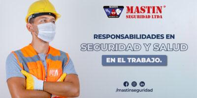Responsabilidades en Seguridad y Salud en el Trabajo